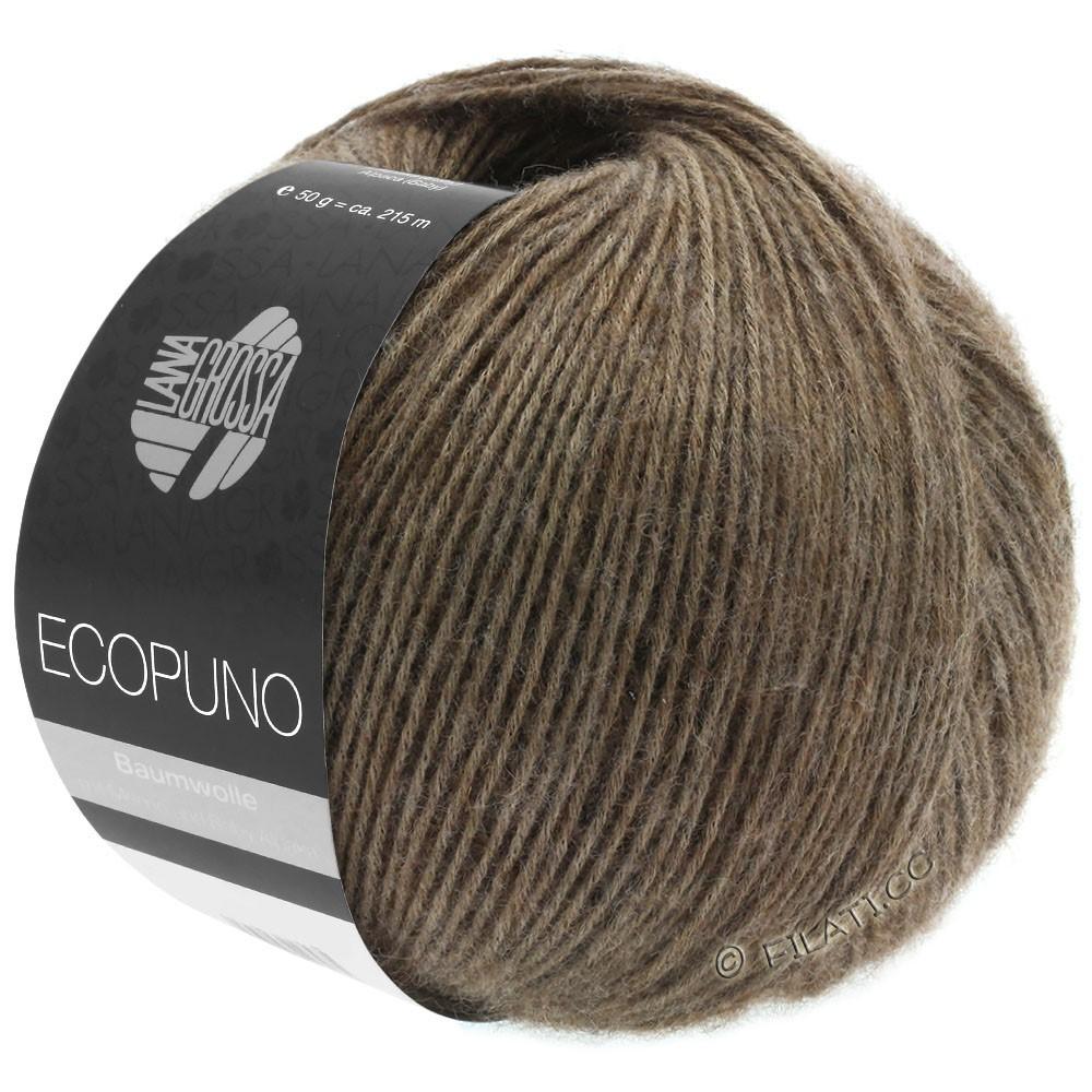 Lana Grossa ECOPUNO | 17-тёмно-коричневый