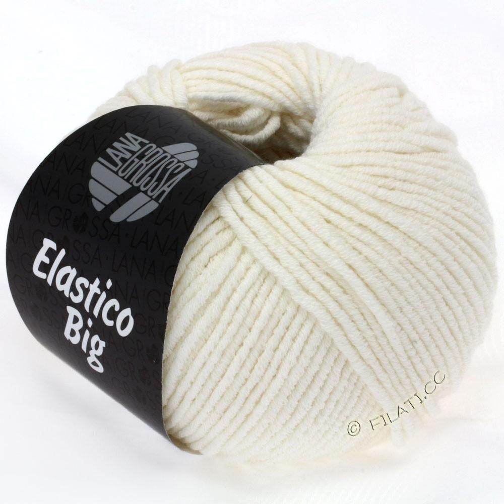 Lana Grossa ELASTICO Big | 02-чисто-белый