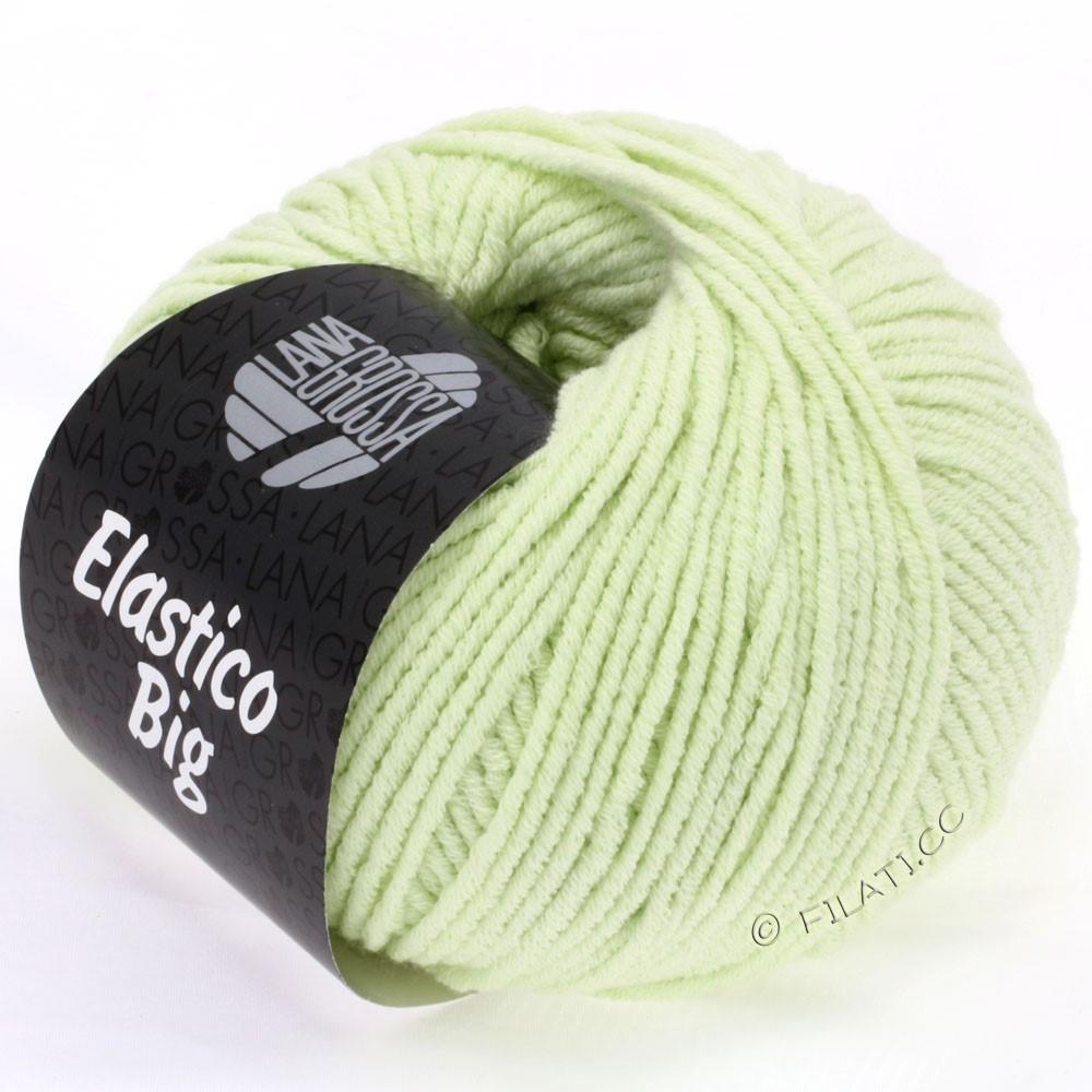 Lana Grossa ELASTICO Big | 08-бледно-зелёный