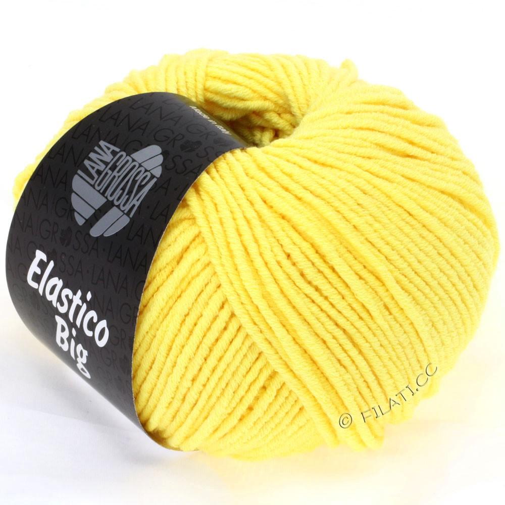 Lana Grossa ELASTICO Big | 09-жёлтый