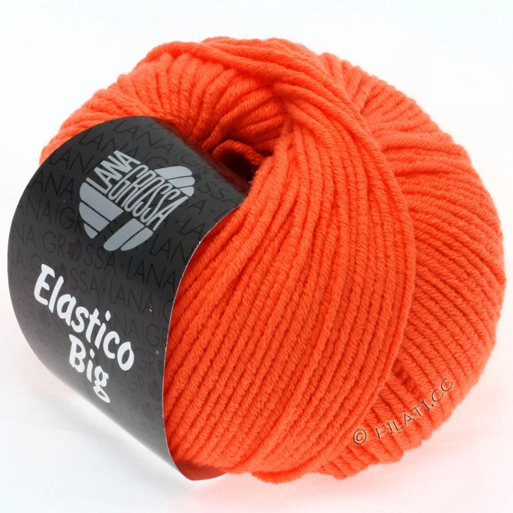 Lana Grossa ELASTICO Big | 14-мандариновый