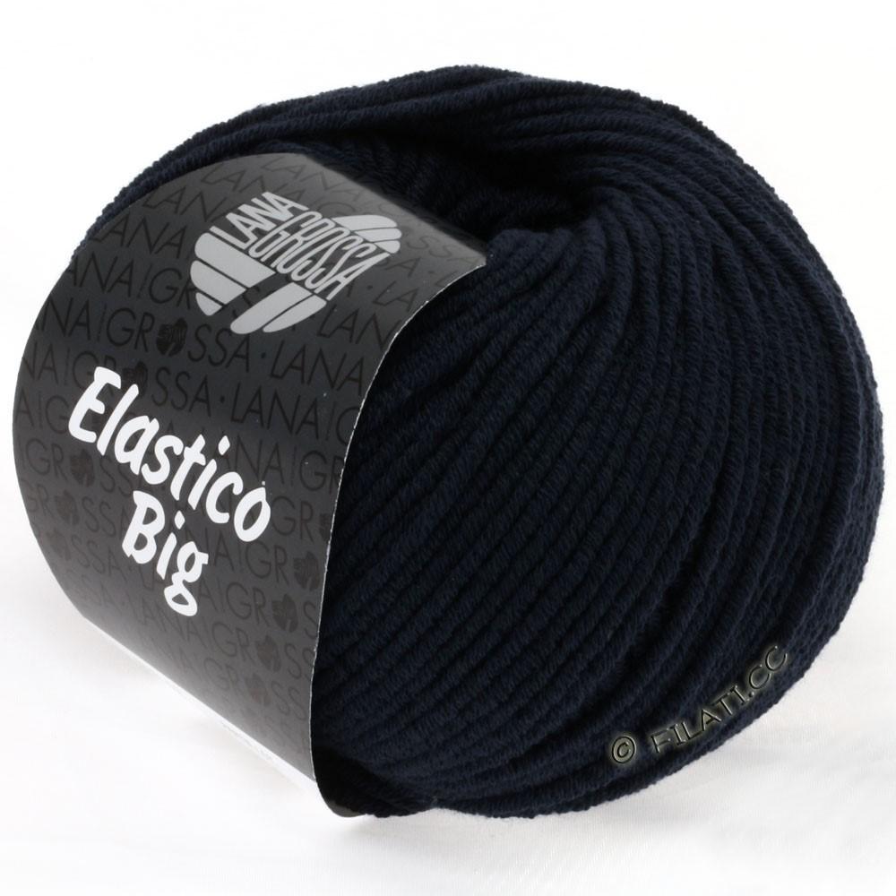 Lana Grossa ELASTICO Big | 19-тёмно-синий