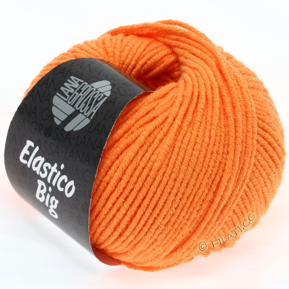 Lana Grossa ELASTICO Big | 34-оранжевый