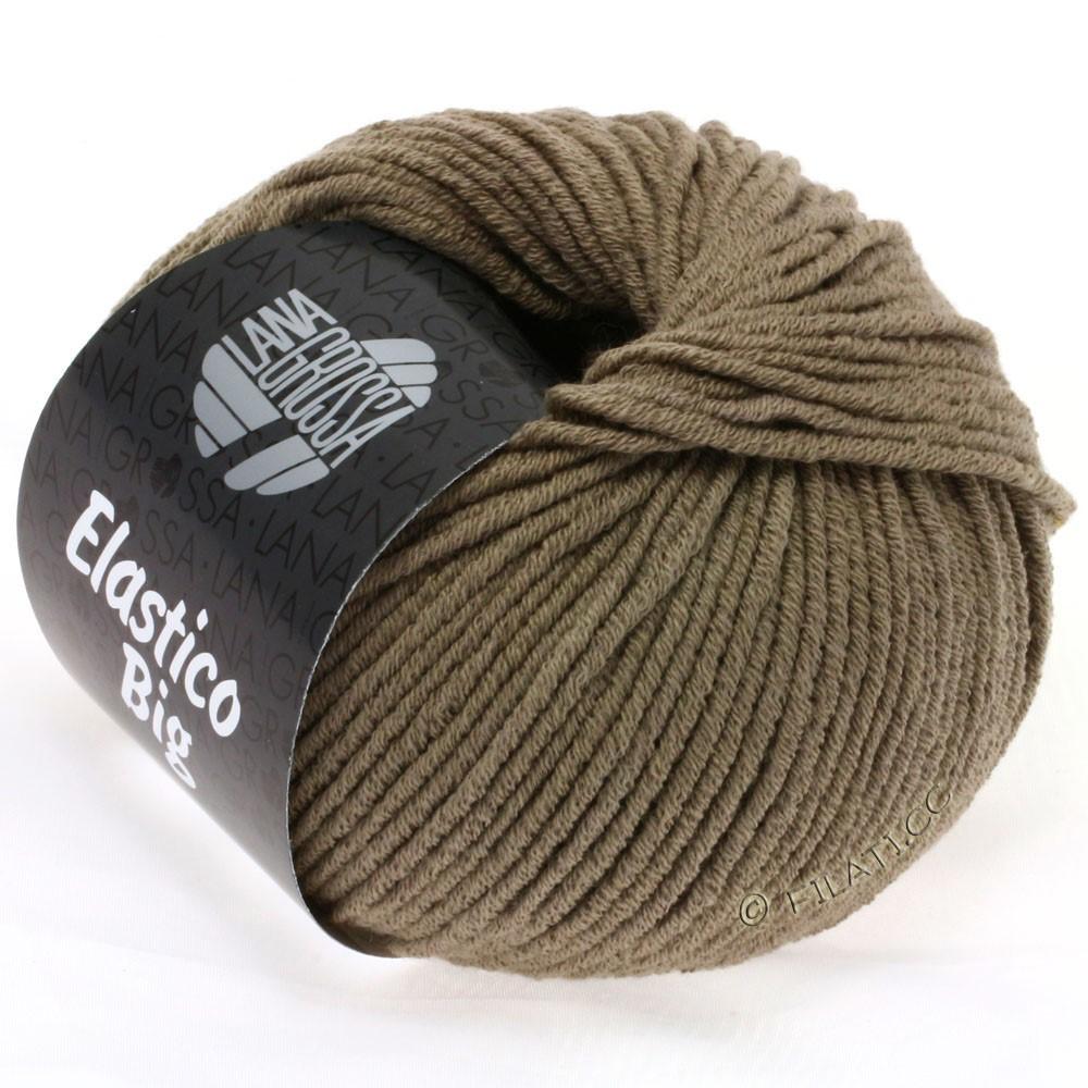 Lana Grossa ELASTICO Big | 38-серо-коричневый