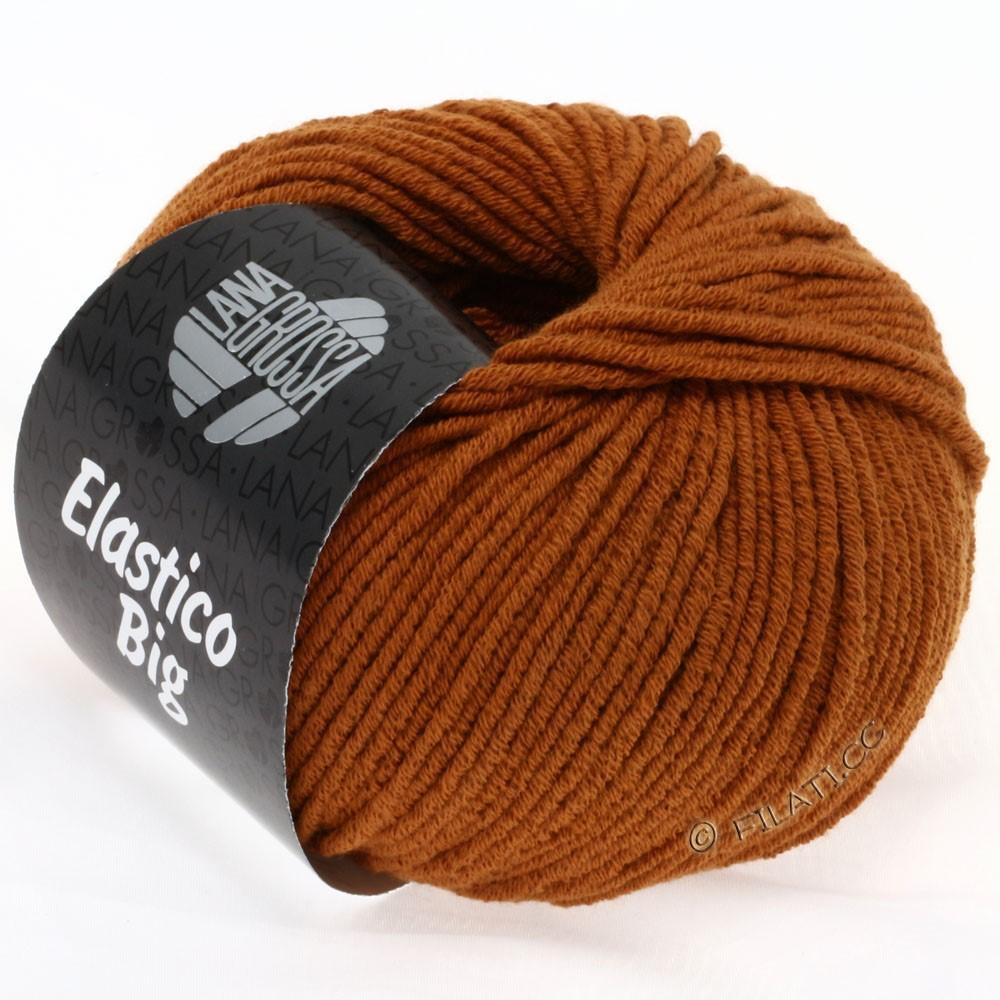 Lana Grossa ELASTICO Big | 39-коричневый цвет корицы