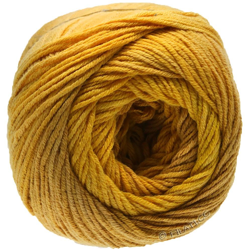 Lana Grossa ELASTICO Degradé | 713-тёмно-желтый/желтый песок/желтый дрок