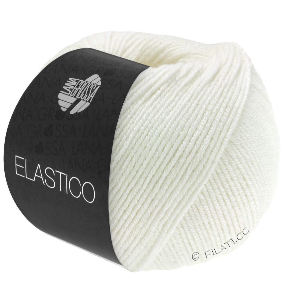 Lana Grossa ELASTICO  Uni/Print уни/принт | 036-цвет экрю