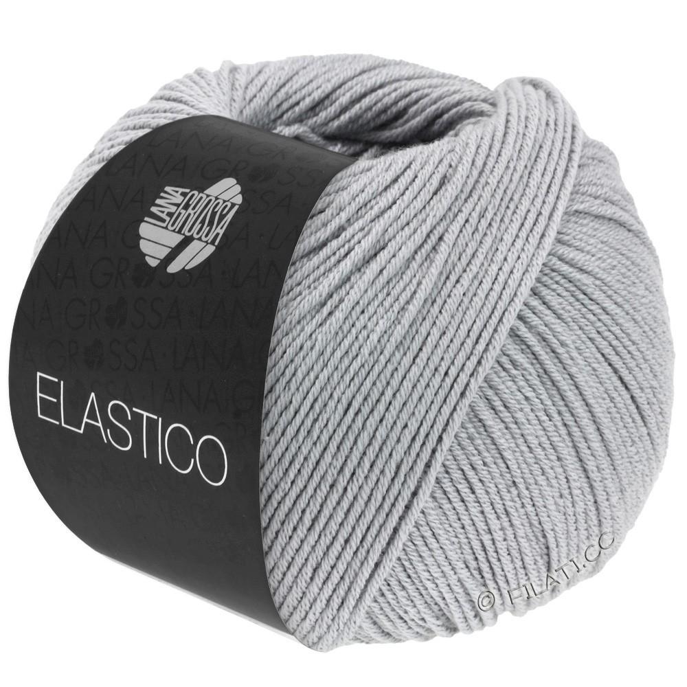 Lana Grossa ELASTICO  Uni/Print уни/принт | 070-светло-серый