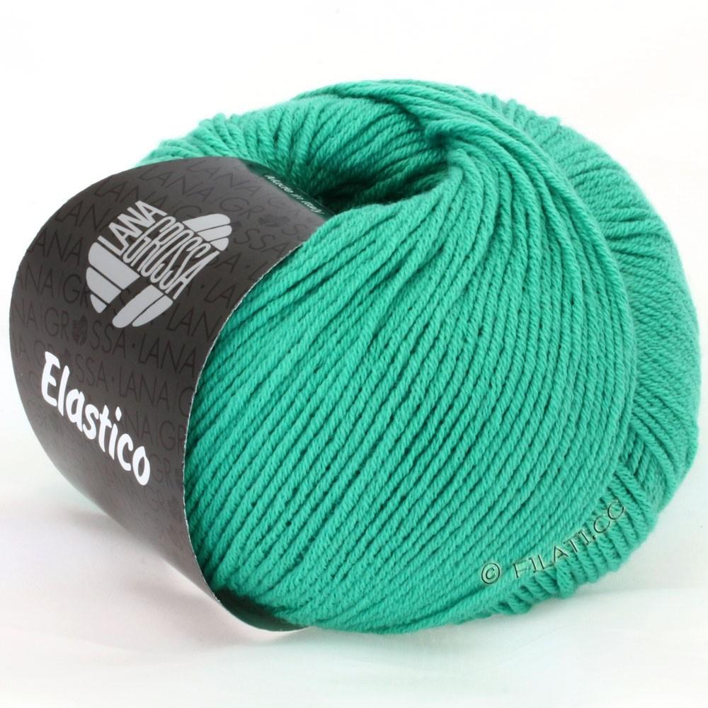 Lana Grossa ELASTICO Uni/Print уни/принт | 106-изумрудный