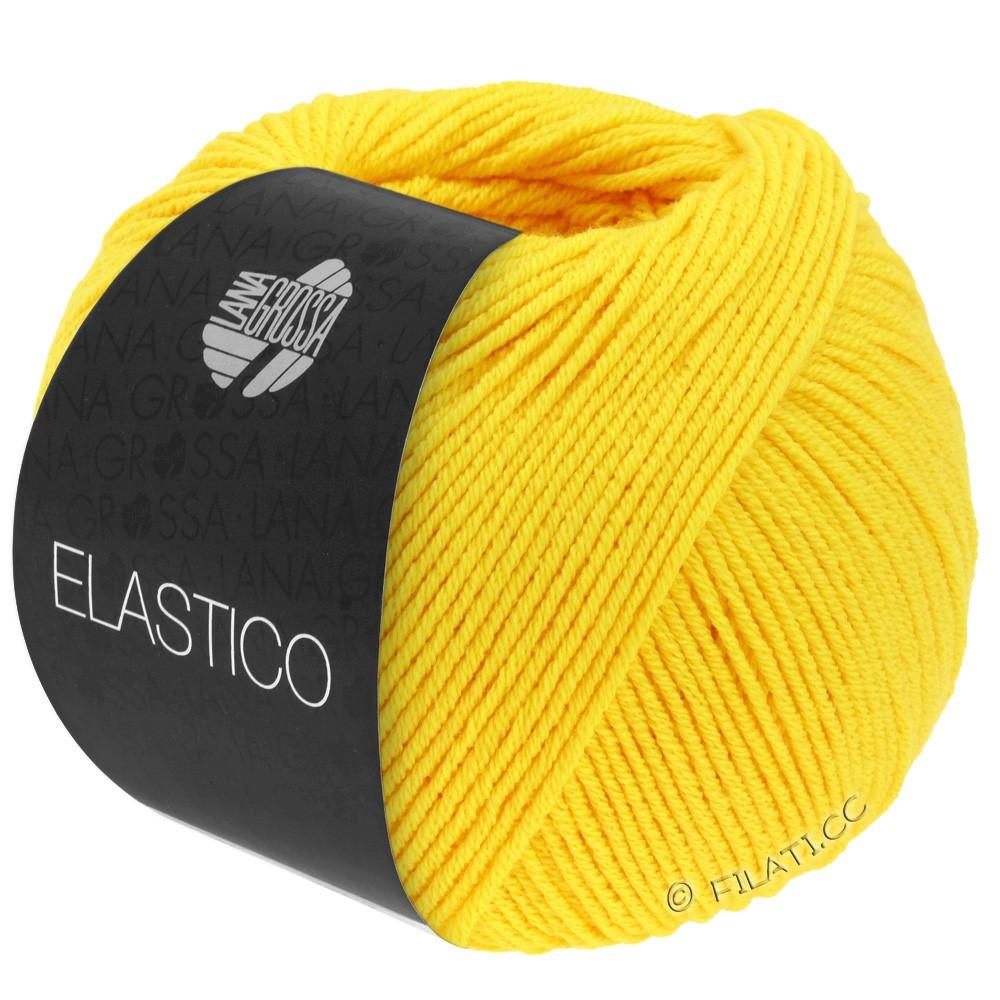 Lana Grossa ELASTICO  Uni/Print уни/принт | 107-желтое солнце