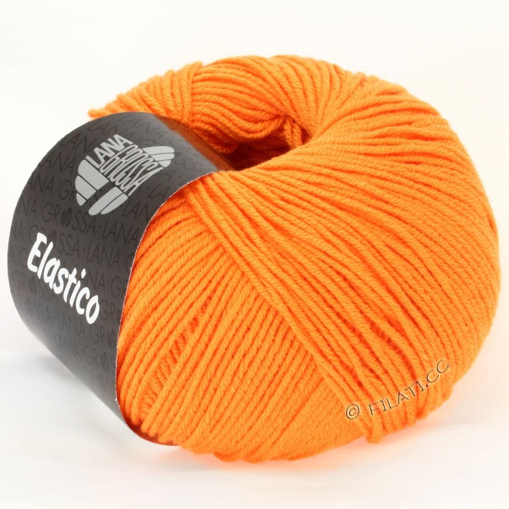 Lana Grossa ELASTICO Uni/Print уни/принт | 111-оранжевый
