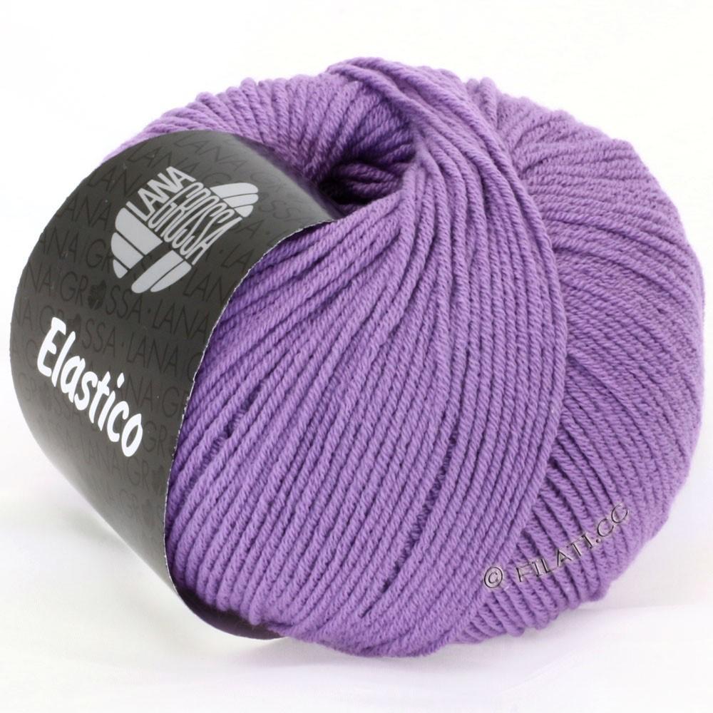 Lana Grossa ELASTICO Uni/Print уни/принт | 117-темно-фиолетовый
