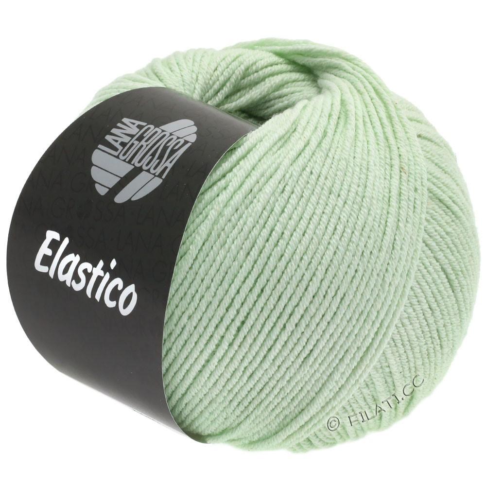 Lana Grossa ELASTICO  Uni/Print уни/принт | 133-бледно-зелёный