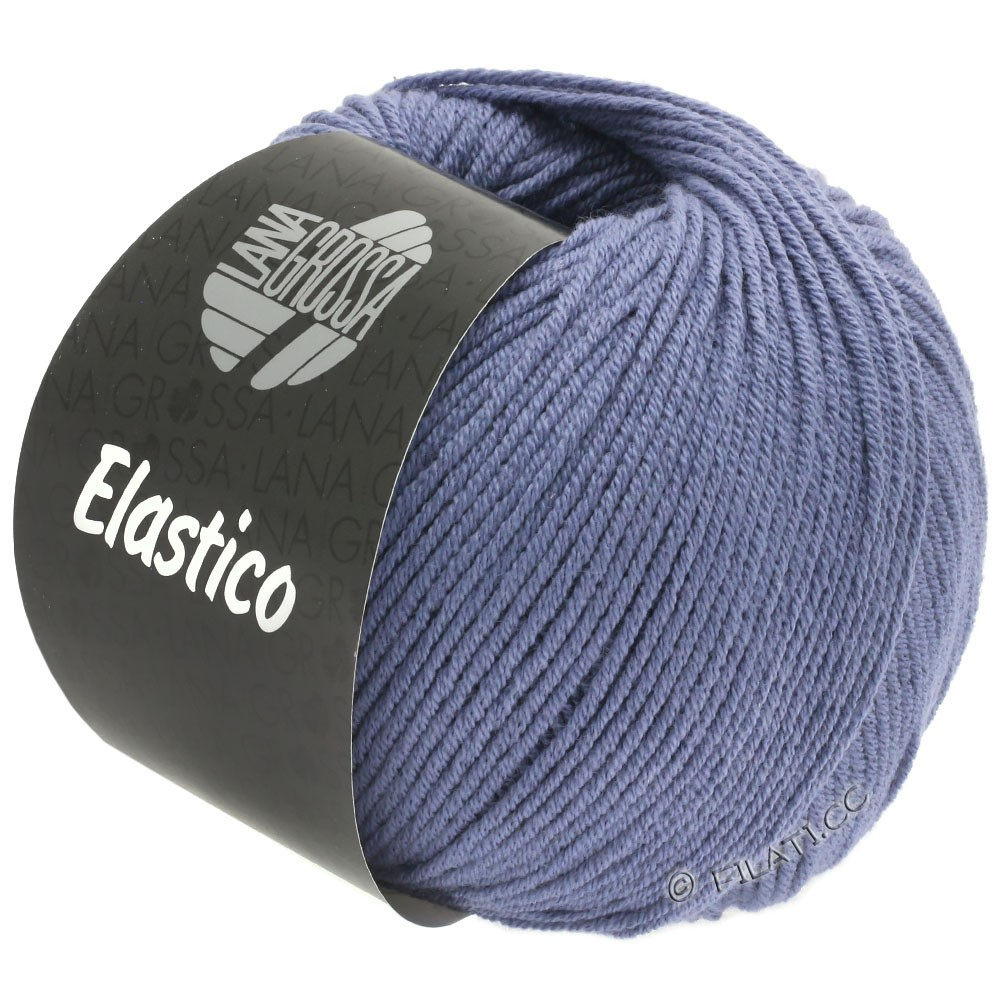 Lana Grossa ELASTICO  Uni/Print уни/принт | 135-синияя слива