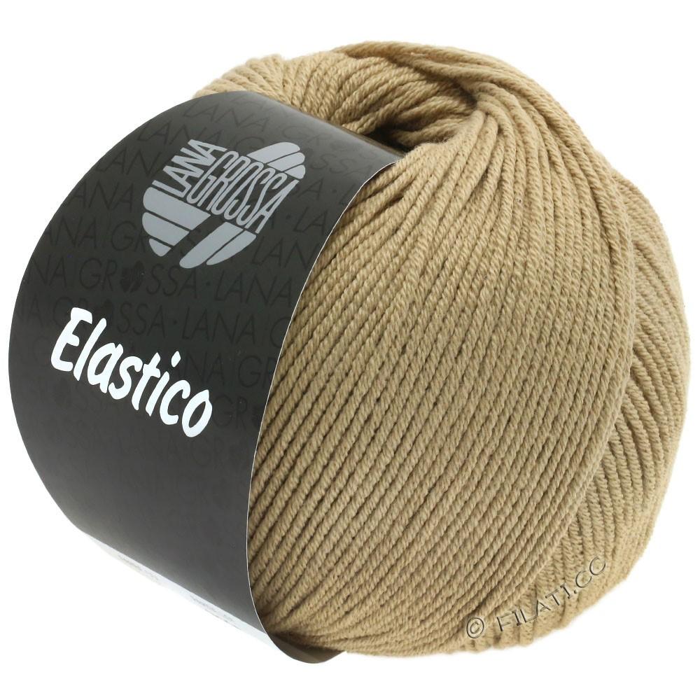 Lana Grossa ELASTICO  Uni/Print уни/принт | 136-легко коричневый
