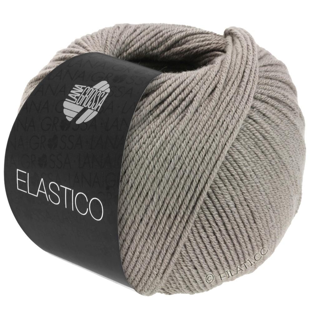 Lana Grossa ELASTICO  Uni/Print уни/принт | 137-серо-коричневый