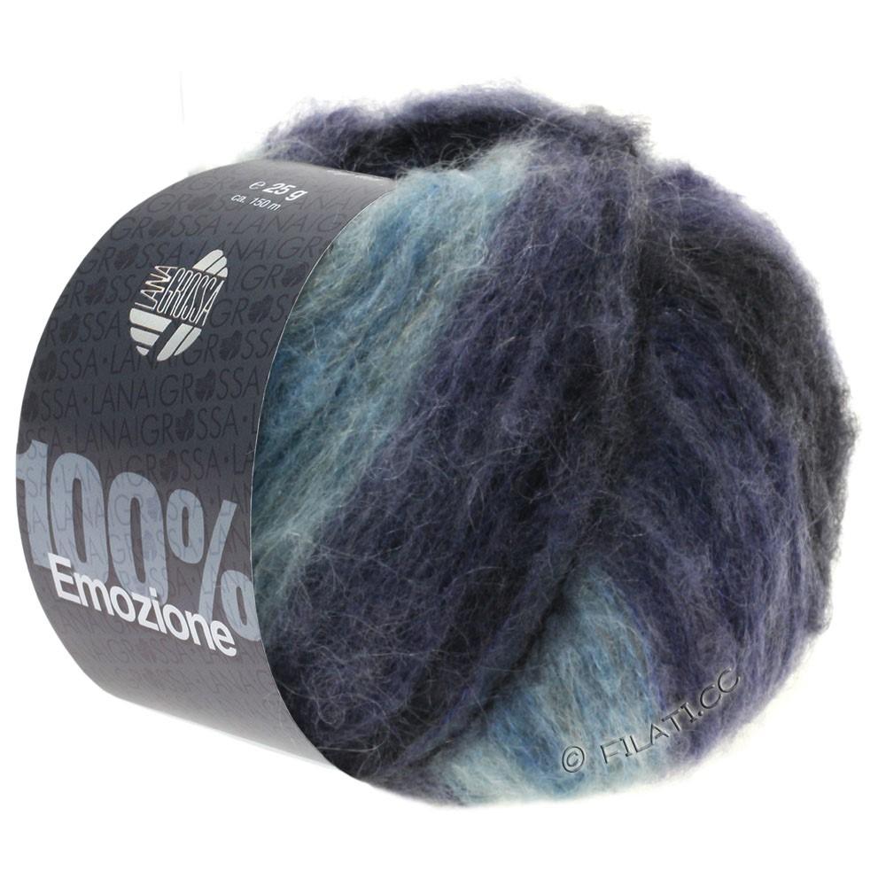 Lana Grossa EMOZIONE Degradé | 105-светло-голубой/сине-фиолетовый/антрацитовый