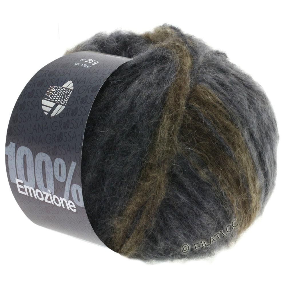 Lana Grossa EMOZIONE Degradé | 106-тёмно-серый/антрацитовый/серо-коричневый