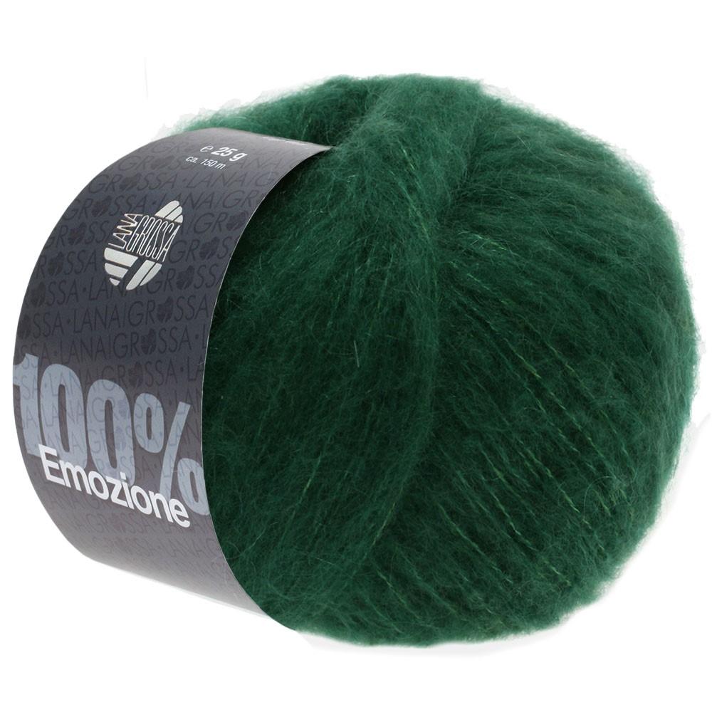 Lana Grossa EMOZIONE | 08-тёмно-зелёный