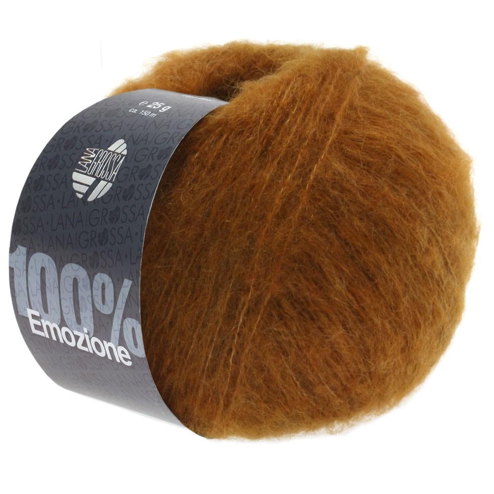 Lana Grossa EMOZIONE | 11-золотисто-коричневый