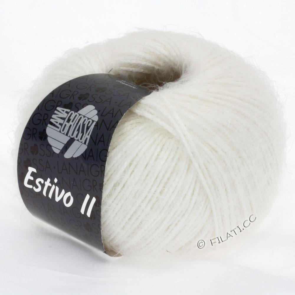Lana Grossa ESTIVO II | 12-чисто-белый