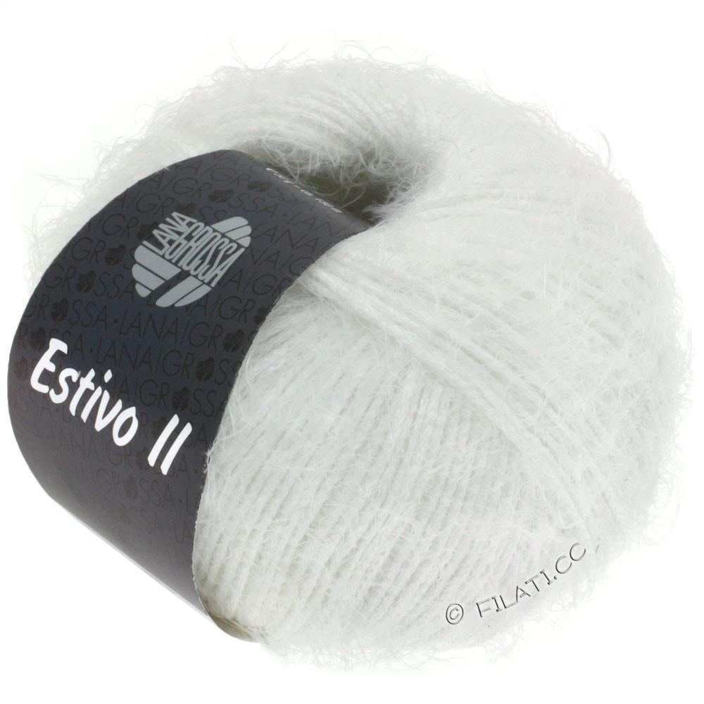 Lana Grossa ESTIVO II | 13-белый