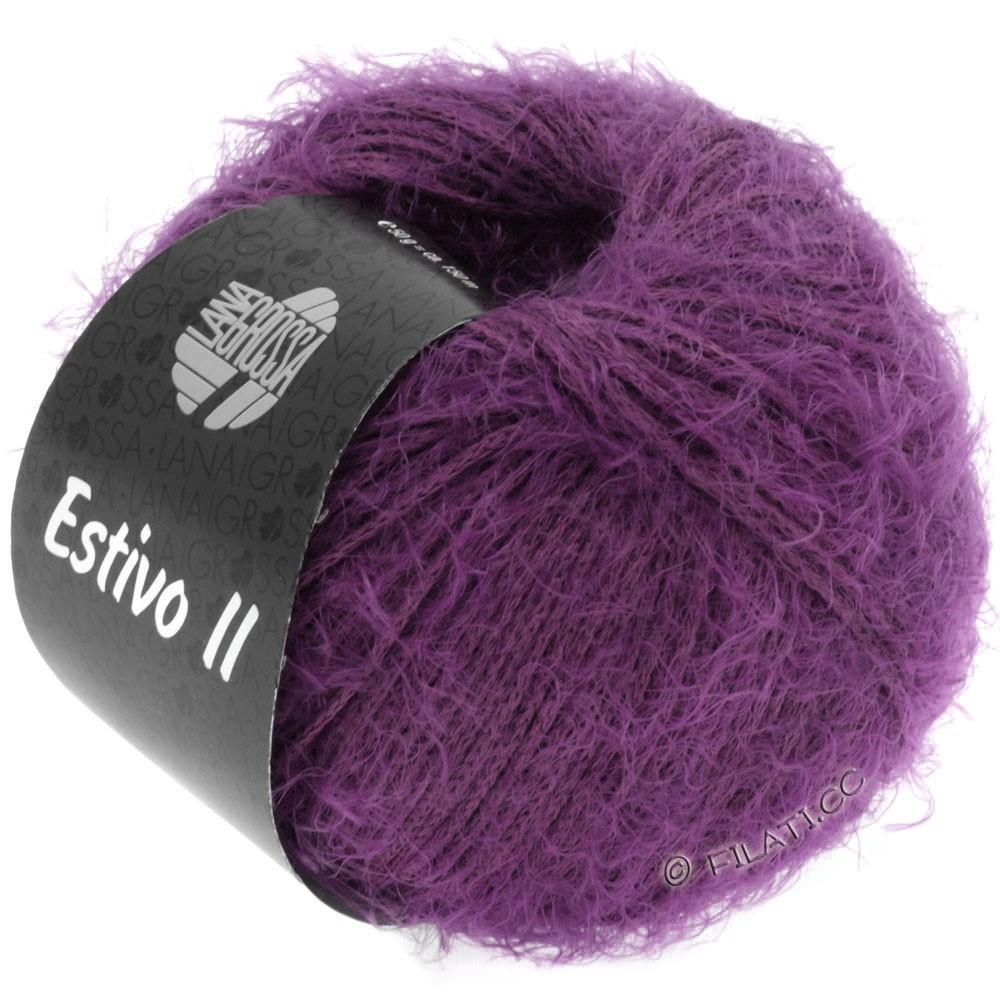 Lana Grossa ESTIVO II | 18-тёмно-фиолетовый