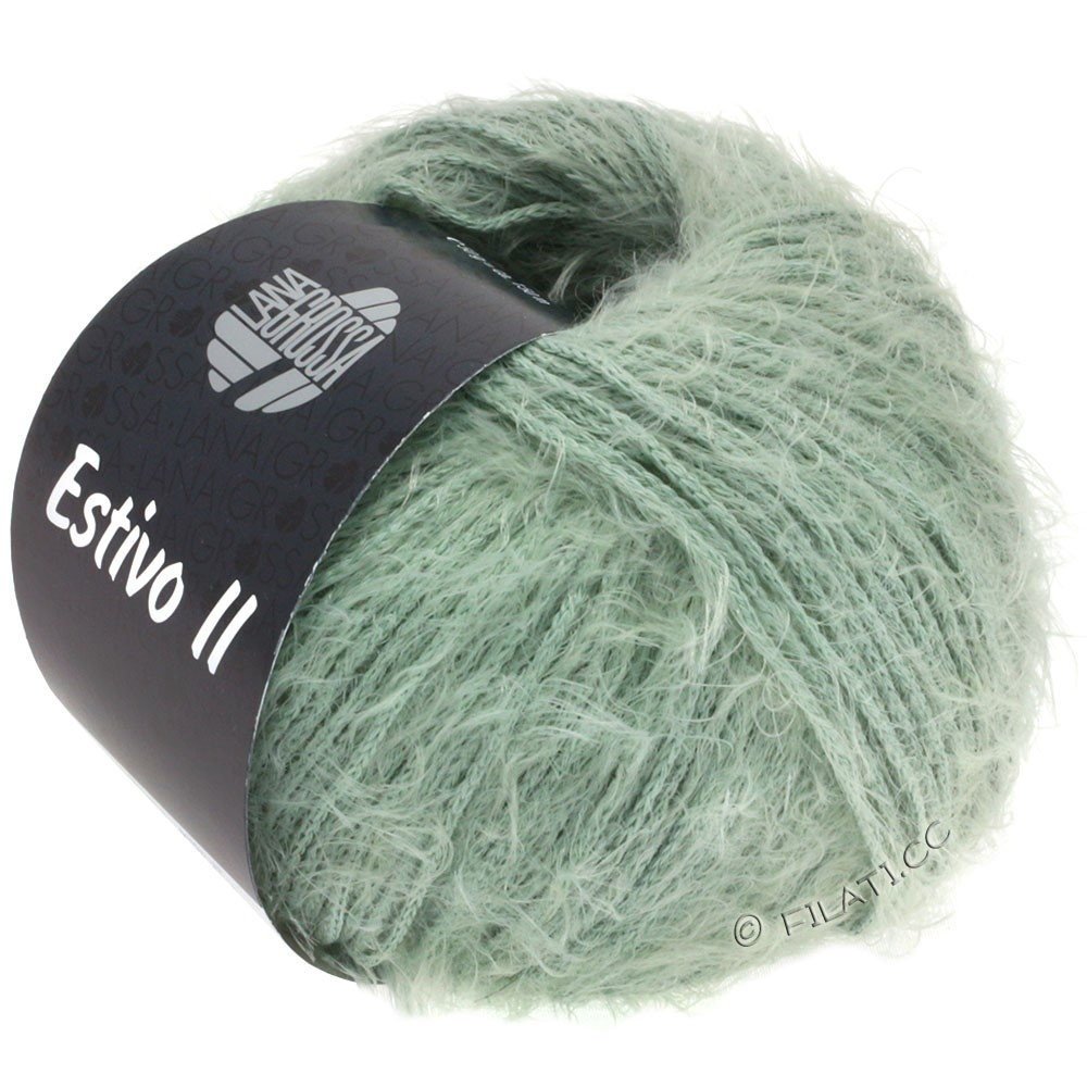 Lana Grossa ESTIVO II | 23-серо-зеленый