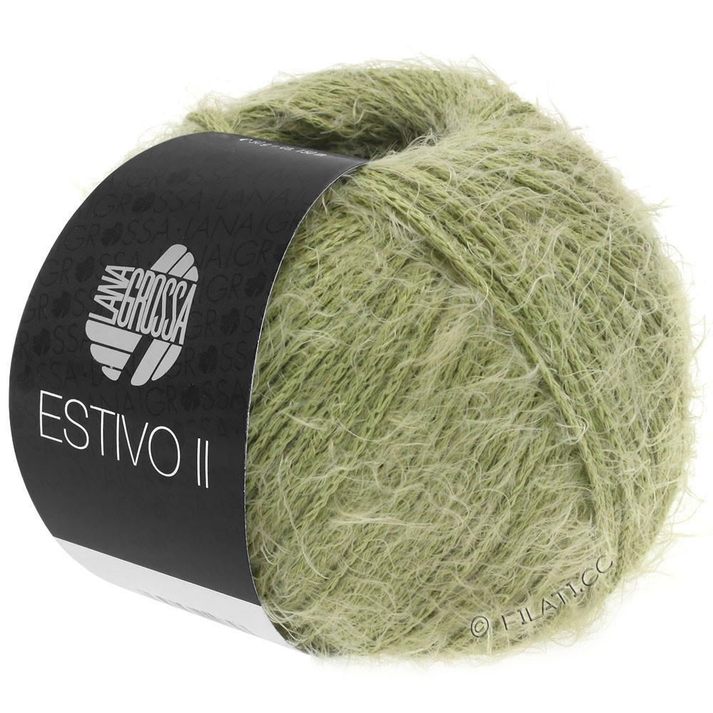 Lana Grossa ESTIVO II | 36-оливковый