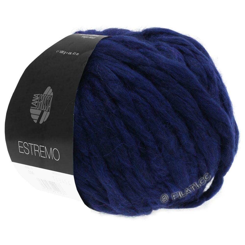 Lana Grossa ESTREMO | 08-тёмно-синий