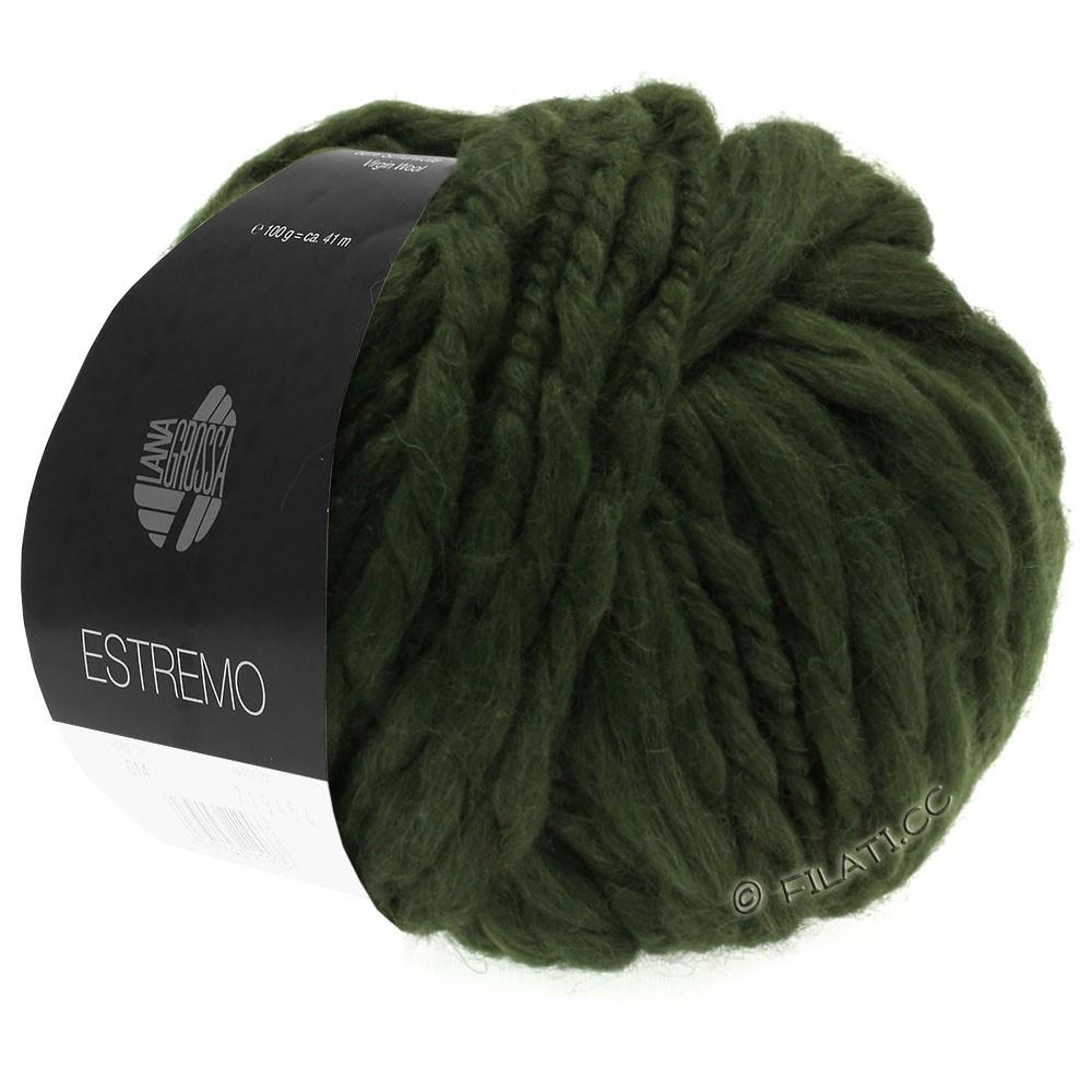 Lana Grossa ESTREMO | 10-мох зеленый