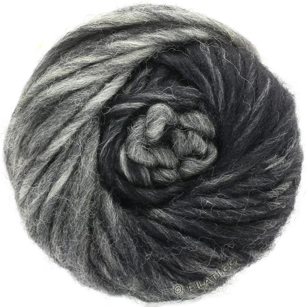 Lana Grossa FELTRO Degradé | 1304-светло-серый/серый/чёрный