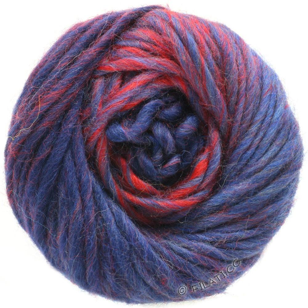 Lana Grossa FELTRO Degradé | 1305-тёмно-красный/тёмно-синий/синий