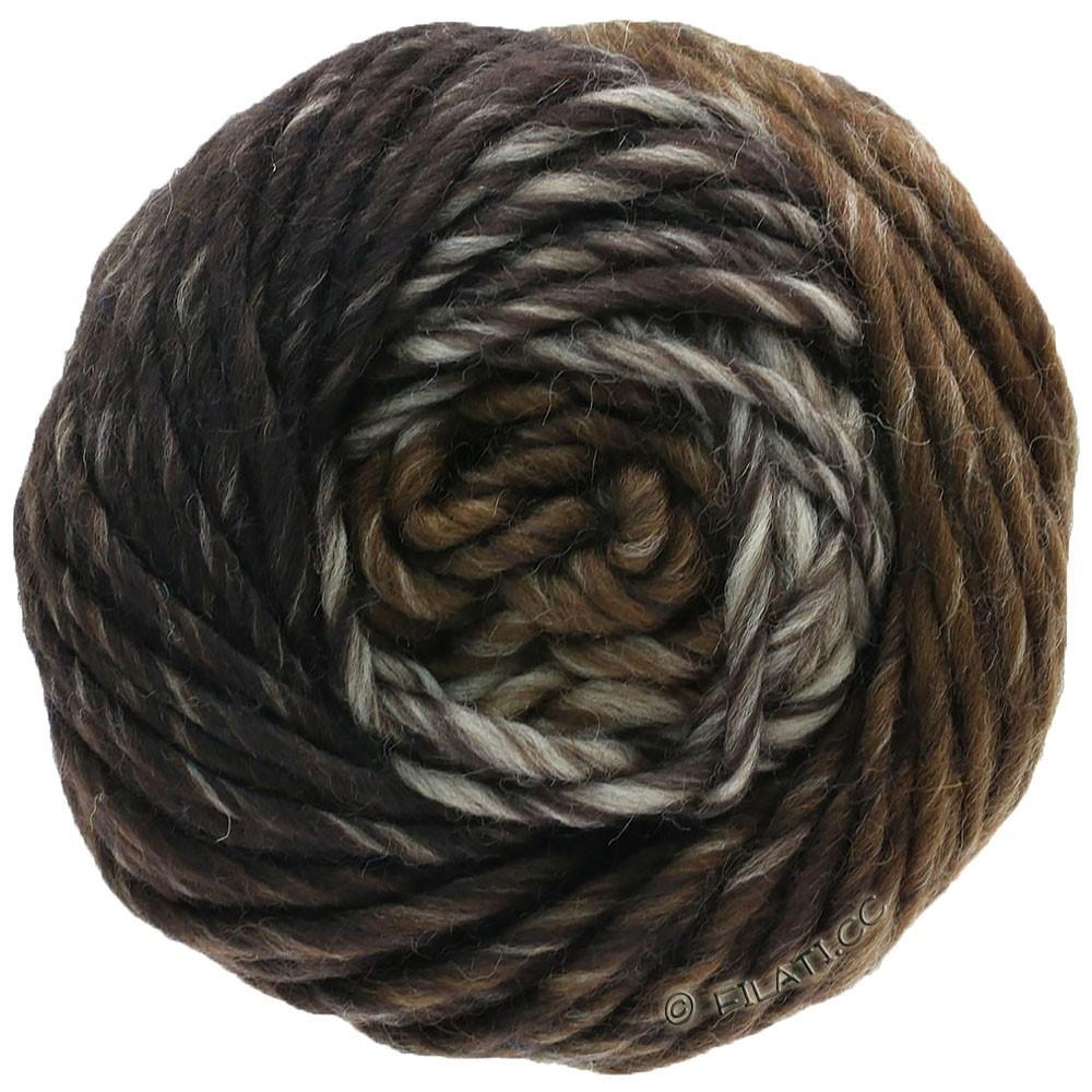 Lana Grossa FELTRO Degradé | 1311-светло-коричневый/средне-коричневый/тёмно-коричневый