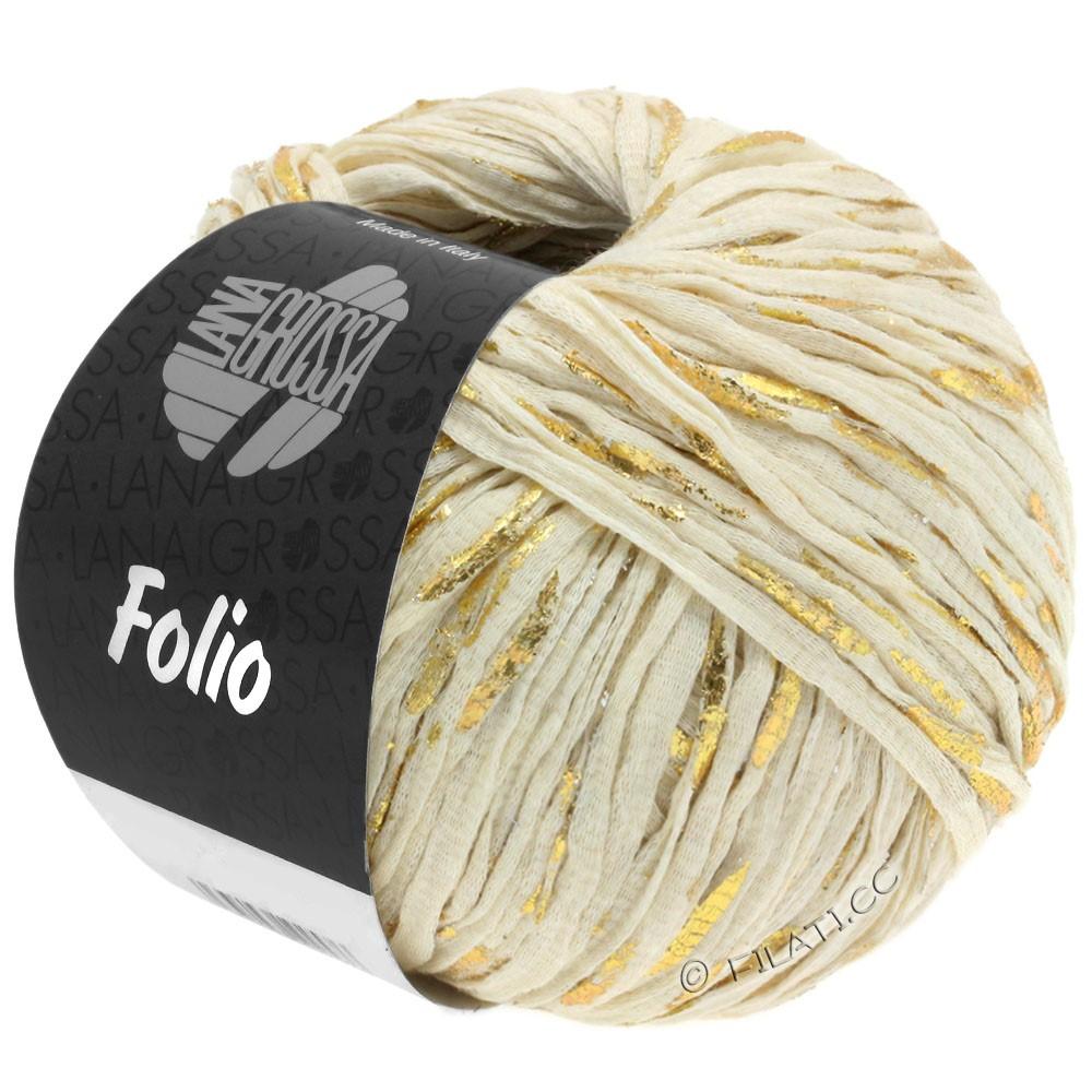 Lana Grossa FOLIO | 08-натуральный/золотой