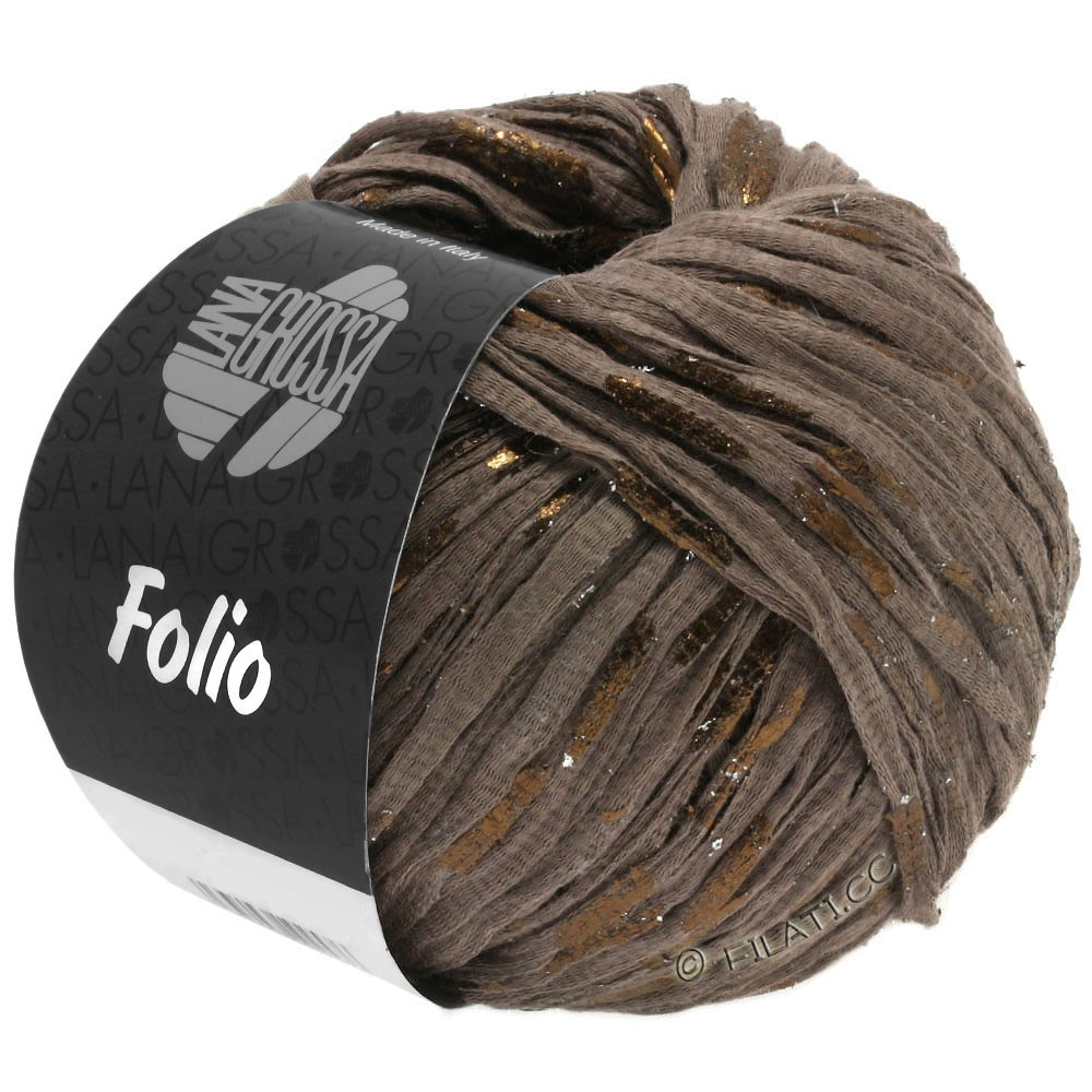 Lana Grossa FOLIO | 10-коричневый/медь