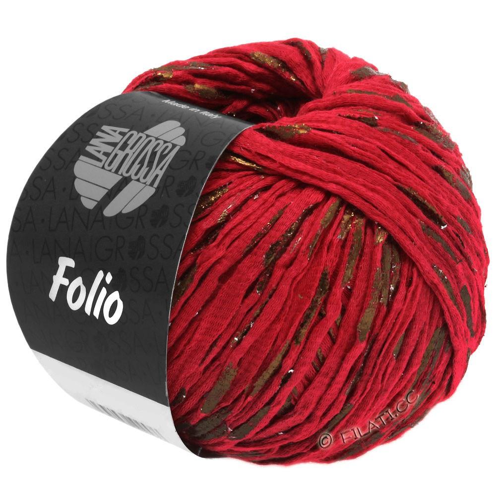 Lana Grossa FOLIO | 12-красный/медь