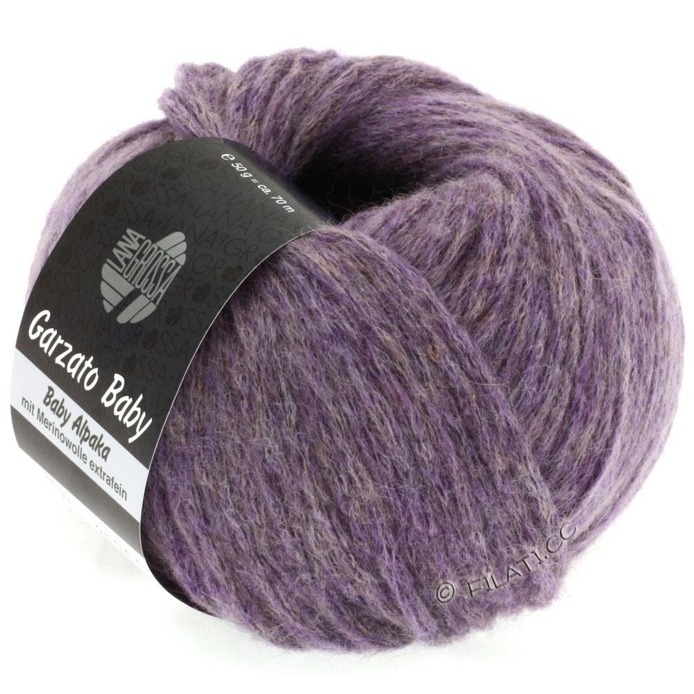 Lana Grossa GARZATO Baby | 04-пурпурный меланжевый