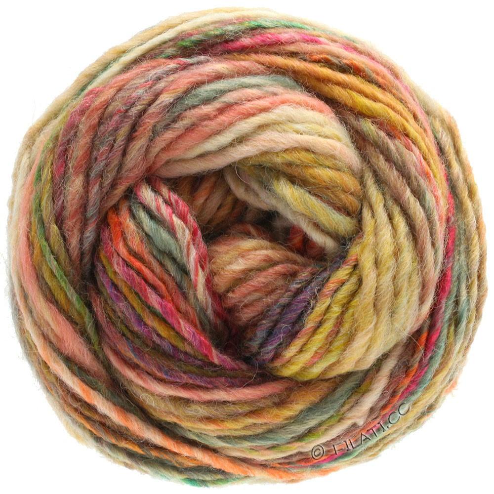 Lana Grossa GOMITOLO 100 | 108-бежевый/лососевый/оранжевый/серый/зелёный
