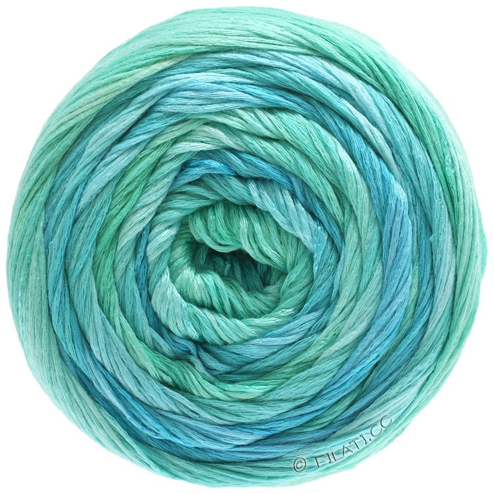 Lana Grossa GOMITOLO ESTATE | 305-бирюзовый/светло-голубой/вода/мята
