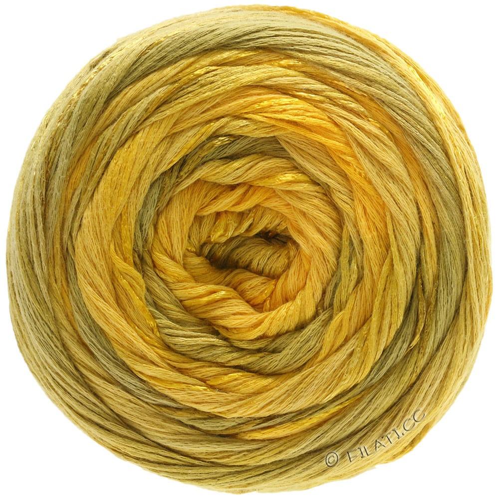 Lana Grossa GOMITOLO ESTATE | 307-желтое солнце/мед желтый/горчичный/желтый шафран