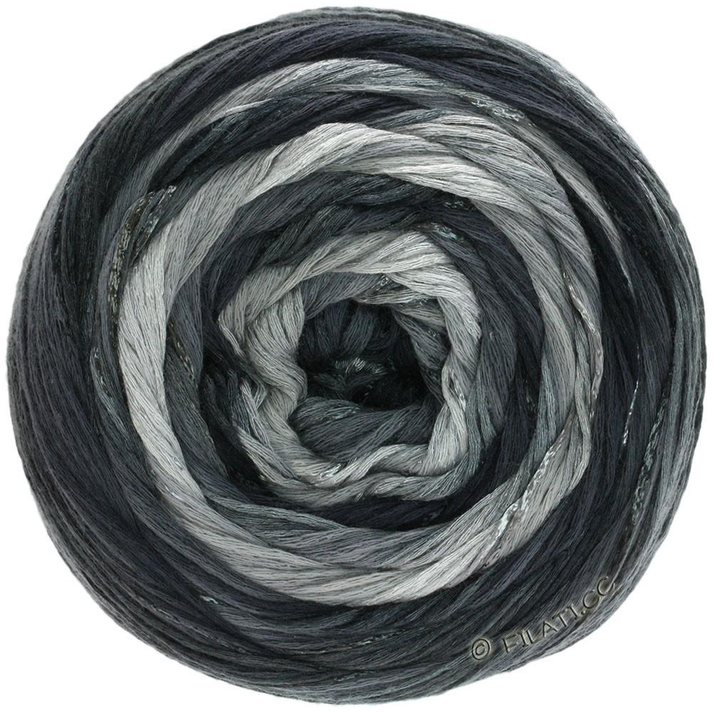 Lana Grossa GOMITOLO ESTATE | 310-светло-серый/тёмно-серый/чёрный/натуральный