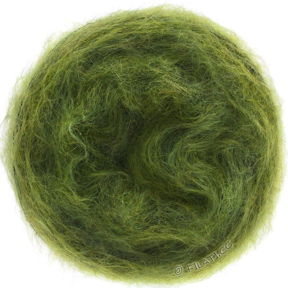 Lana Grossa GOMITOLO SILKHAIR   206-оливковый/темно-зеленый меланжевый