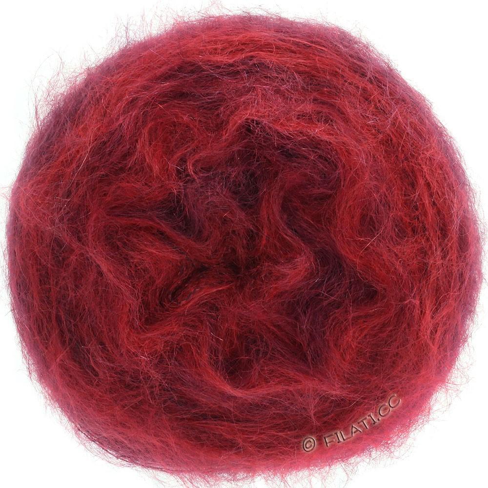 Lana Grossa GOMITOLO SILKHAIR   209-красный/бургунд меланжевый