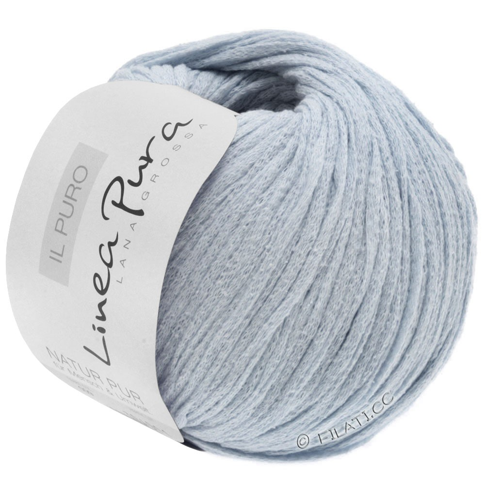 Lana Grossa IL PURO (Linea Pura) | 19-светло-серый