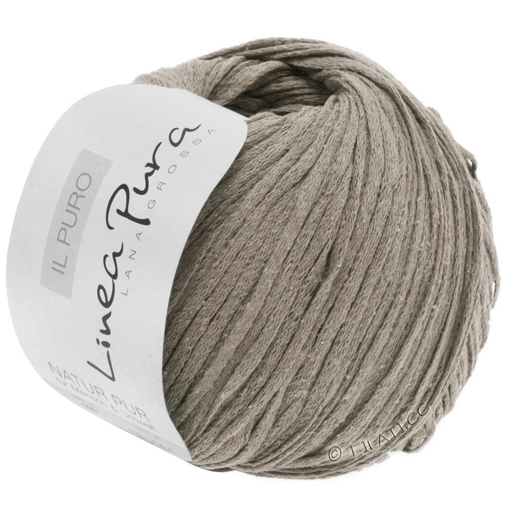 Lana Grossa IL PURO (Linea Pura) | 21-серо-коричневый