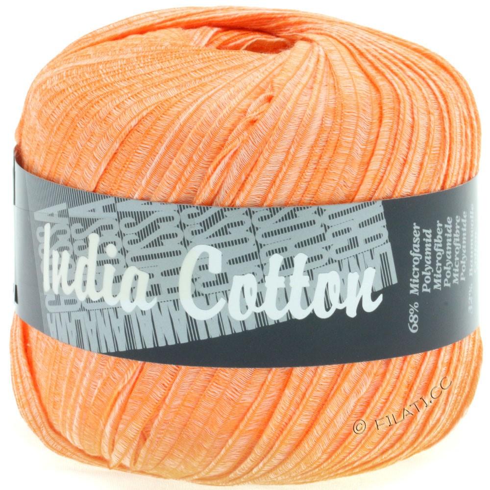 Lana Grossa INDIA Cotton Uni/Print   207-оранжевый