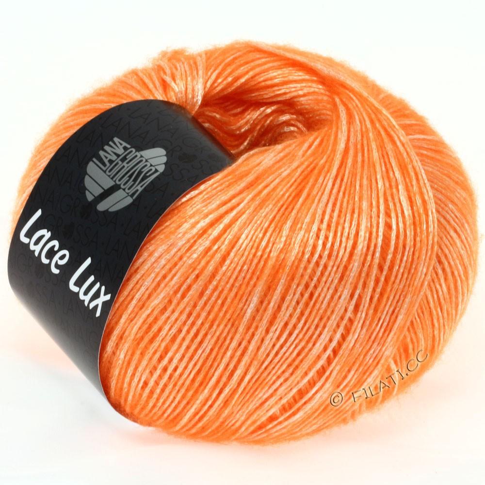 Lana Grossa LACE Lux | 30-неоново-оранжевый меланжевый