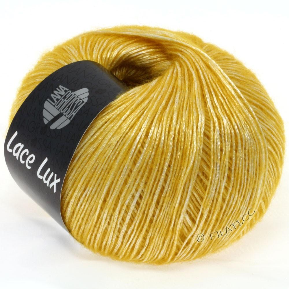 Lana Grossa LACE Lux | 33-тёмно-желтый меланжевый