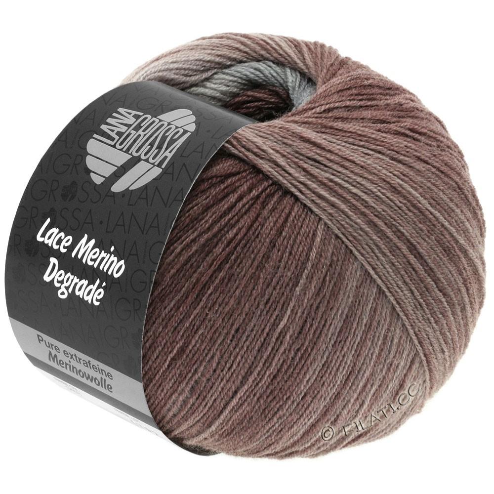 Lana Grossa LACE Merino Degradé | 401-серо-бежевый/жемчужно-серый/розовое дерево